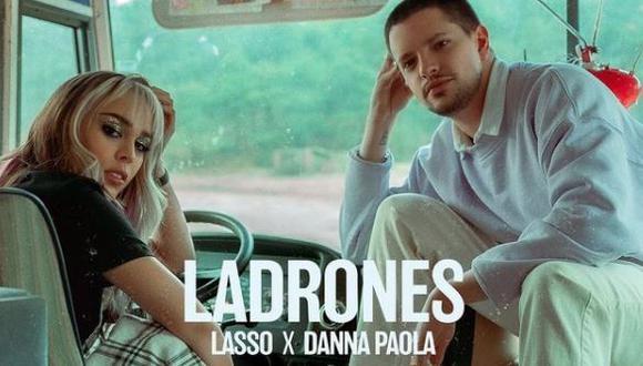 """Danna Paola y Lasso lanzan """"Ladrones"""", su segunda colaboración. (Foto: @dannapaola)"""