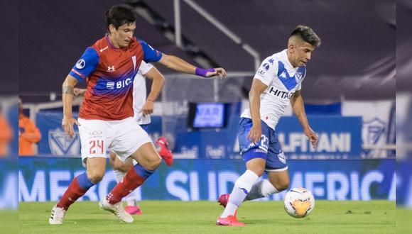Vélez Sarsfield vs. Universidad Católica se enfrentan en partido por Copa Sudamericana 2020 (Foto: Twitter @Velez)