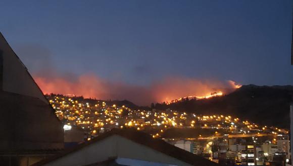Según informó el Indeci, hasta el momento no se registran daños a la vida y salud de las personas. (Foto: Cortesía)