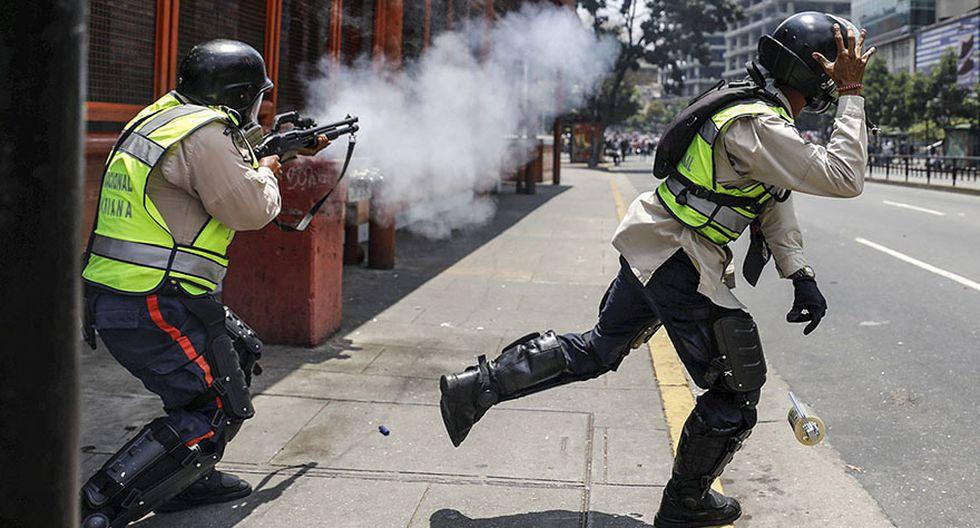Venezuela vive su quinta protesta del mes contra Maduro - 6