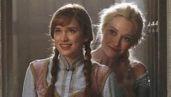 """Publican imagen de Anna de """"Frozen"""" en """"Once Upon a Time"""""""