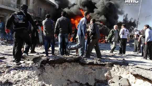 Barriles con explosivos, la nueva arma del cruel Al Asad
