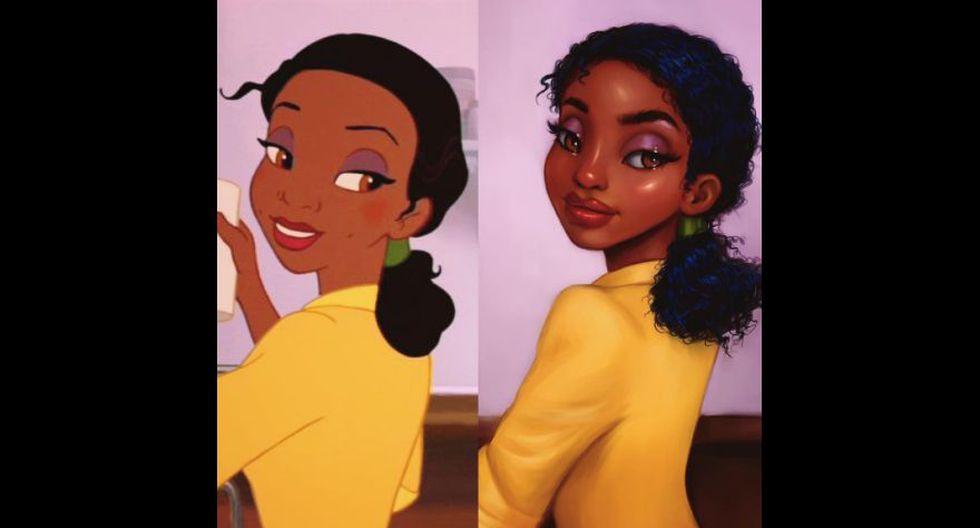 Artista pinta princesas Disney y les da toque más realista - 6