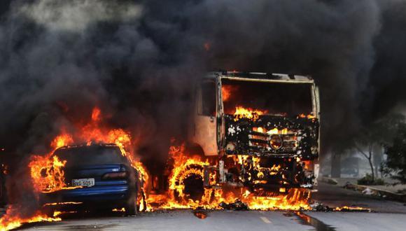 Brasil   La ola de violencia al noreste del país  no cesa tras 12 días de ataques. (AP)