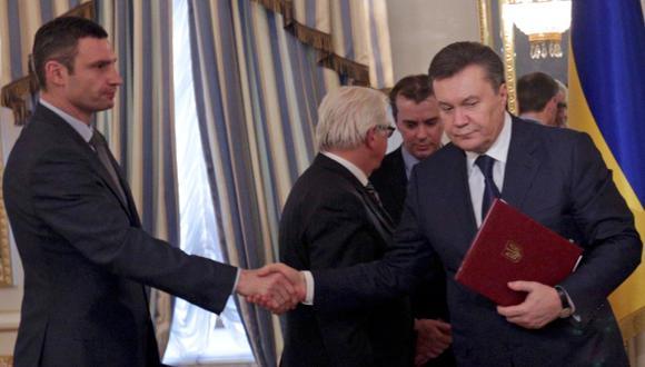 Ucrania: así se selló el pacto de paz en la convulsionada Kiev