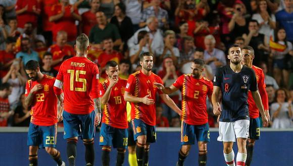 Isco Alarcón también se unió a la fiesta de goles de España y dejó un gran regalo en el arco de Croacia, por la segunda jornada de la UEFA Nations League. (Foto: AFP)