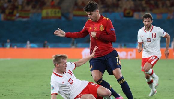 España empató 1-1 con Polonia por la fecha 2 de la Eurocopa 2021.