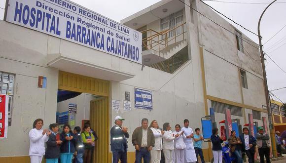 Hospital de Barranca ha colapsado y suspendió su atención por lluvia torrencial. (Foto: Parlamento Chancay)