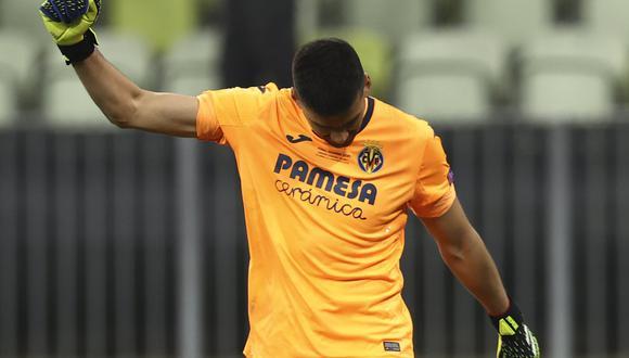 Gerónimo Rulli no fue considerado por Lionel Scaloni en la convocatoria para las Eliminatorias Qatar 2022 (Foto: AP)