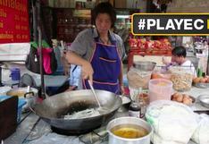 La mejor comida tailandesa se sirve en las calles de Bangkok