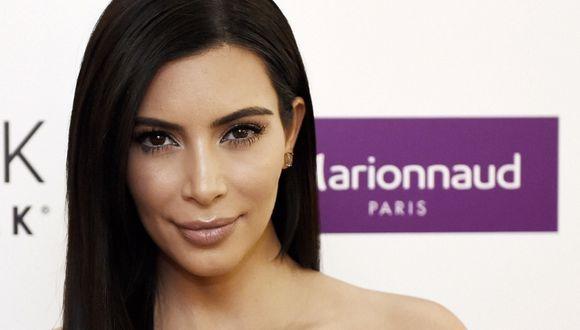 Kim Kardashian usó su cuenta de Instagram para mostrar qué bicho halló en su garage. (Foto: AFP)