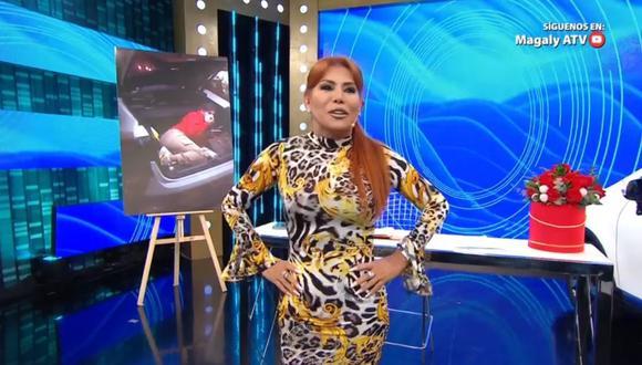 Magaly Medina cuestionó a Yahaira Plasencia por pedir cuidados por el COVID-19, pero organizar una fiesta. (Foto. ATV )