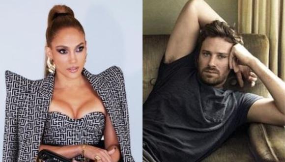 """Jennifer Lopez y Armie Hammer unirán amor y acción en """"Shotgun Wedding"""". (Foto: @jlo/@Armie Hammer)"""