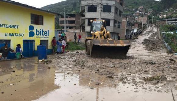 Apurímac: 30 viviendas afectadas y una colapsada tras huaico en San Jerónimo