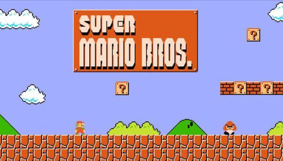 Super Mario Bros popularizó el género de videojuegos de plataforma. (Foto: Nintendo)