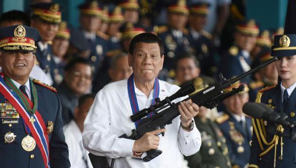 """El presidente de Filipinas, Rodrigo Duterte, obtuvo """"poderes especiales"""" del Congreso para lidiar con la pandemia de coronavirus gracias a una ley que, bajo la emergencia nacional, le permite actuar por tres meses sin contar con el Legislativo. (Foto: Reuters)"""