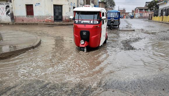 Intensas precipitaciones inundaron en pocas horas las calles de la ciudad de Piura. Otras localidades de esta región norteña también resultaron afectadas. (Foto: Cortesía)
