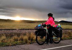 La ingeniera peruana que renunció a todo para viajar en bicicleta por Sudamérica
