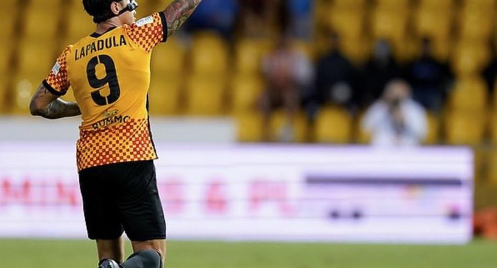 Gianluca Lapadula se perfila como el '9' titular para la fecha triple de Eliminatorias en octubre. (Foto: Benevento).