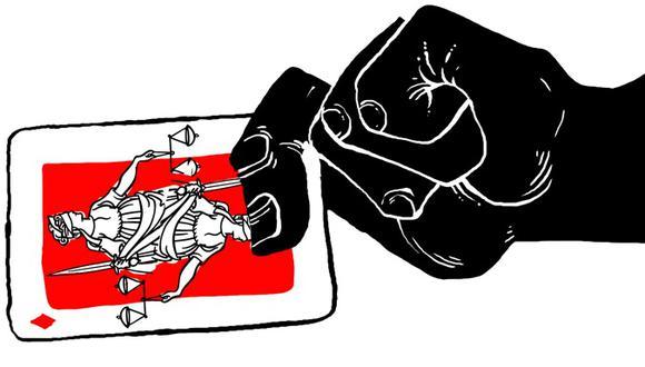 """""""El Congreso de la República no puede prestarse a este juego y es de esperar, en consecuencia, que entre sus propios miembros surjan voces suficientes para impedir este despropósito"""". (Ilustración: Víctor Sanjinez)"""