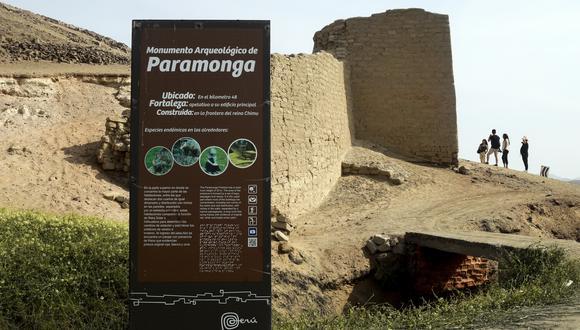 La Fortaleza de Paramonga, compuesta por una serie de pasadizos y rampas. se ubica en el distrito de Pativilca. (Foto: Juan Ponce)