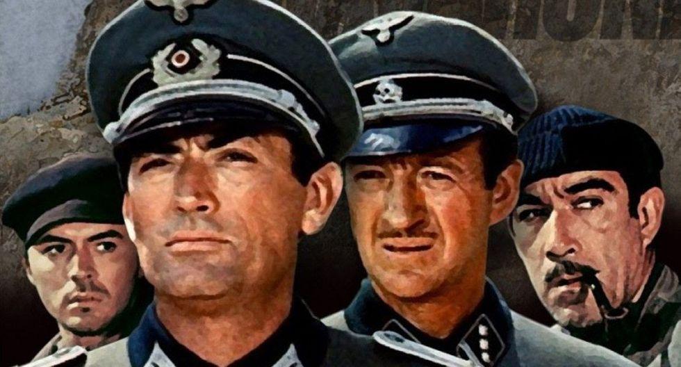 15. LOS CAÑONES DE NAVARONE (1961) Dirección: J. Lee Thompson (Foto: Columbia Pictures)