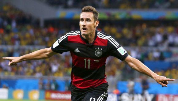 Miroslav Klose: los 16 goles que lo sitúan en la historia