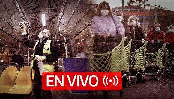 Coronavirus   EN VIVO   Último minuto, número de muertos y casos confirmados de Covid-19 en Estados Unidos, Brasil, Reino Unido, España, Italia y el resto del mundo, hoy martes 02 de Junio de 2020. (Foto: Diseño El Comercio)