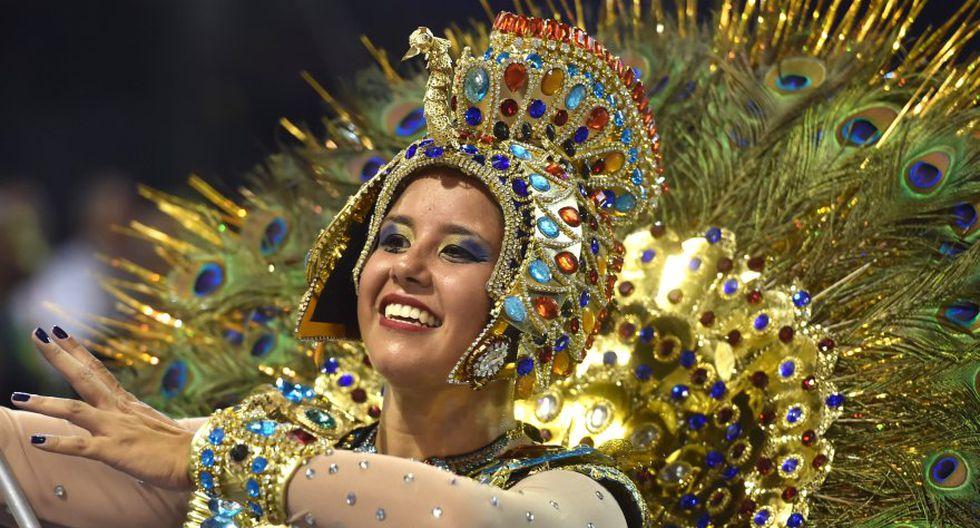 Las primeras postales del colorido carnaval de Río de Janeiro - 5