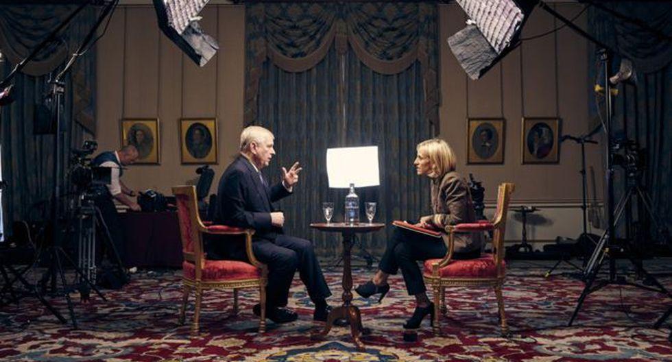 El príncipe Andrés habló con Emily Maitlis, periodista de la BBC, para el programa Newsnight. (Foto: BBC Mundo)