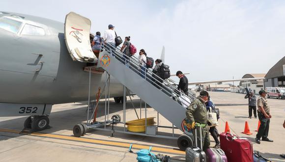 El ministro indicó que tienen a otro grupo de repatriación de alrededor de 2 mil compatriotas. (Foto: Andina)