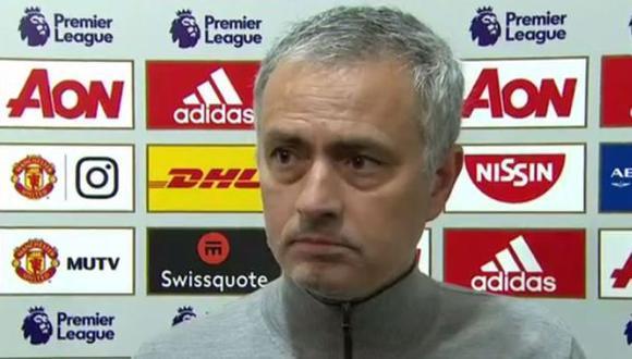 """José Mourinho criticó a periodista: """"Es una pregunta estúpida"""""""