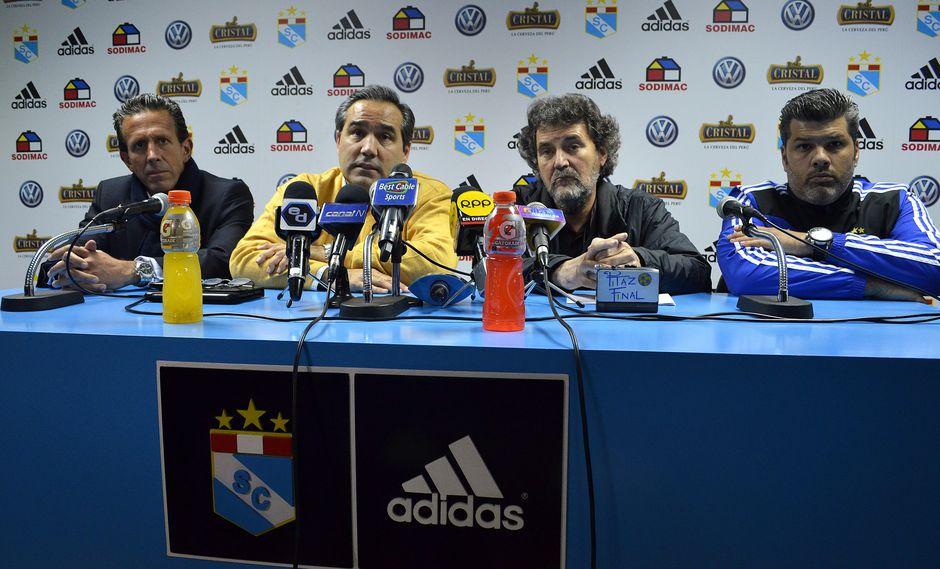 La Comisión de Fútbol en Sporting Cristal tiene un trabajo conjunto de más de cinco años. (FOTO: El Comercio).