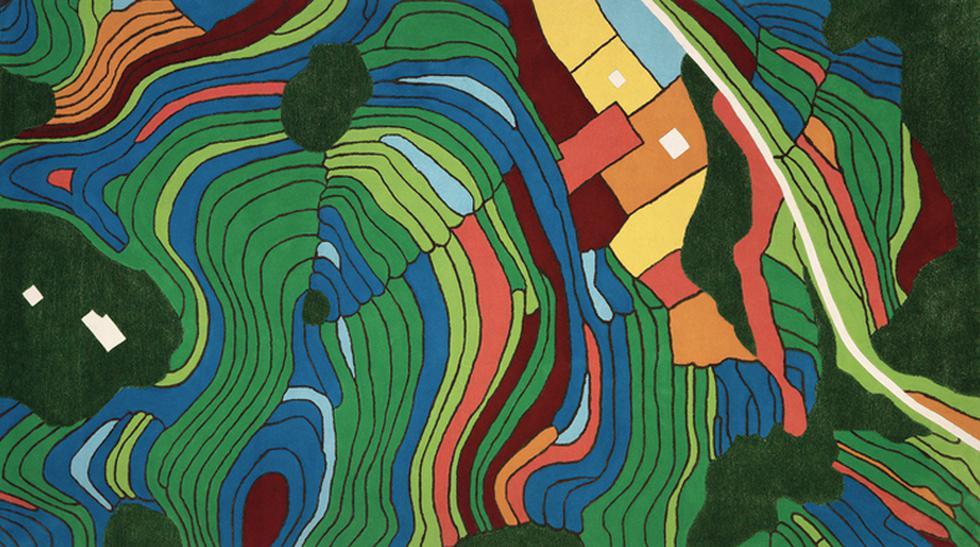 Desde el aire: Estas alfombras son mapas aéreos de las ciudades - 1