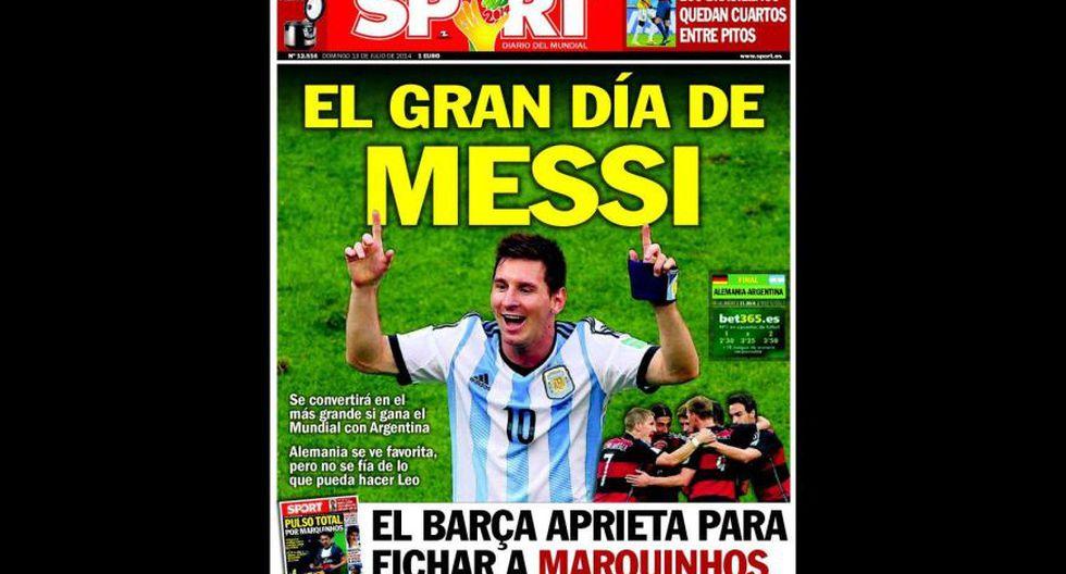 Final Copa del Mundo: así informan las portadas en el mundo - 13