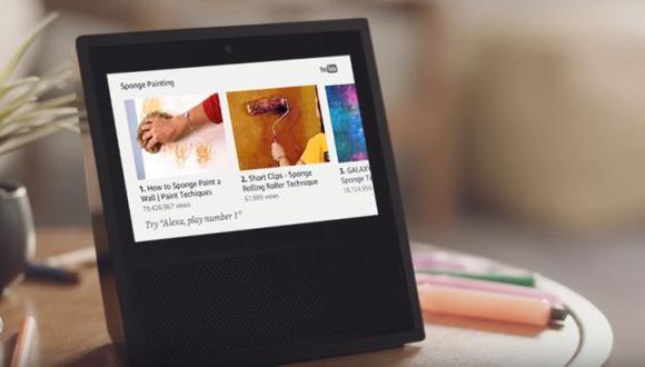 Amazon presenta su asistente con pantalla para el hogar