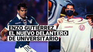 Universitario de Deportes: Conoce todo sobre Enzo Gutiérrez, el nuevo delantero crema