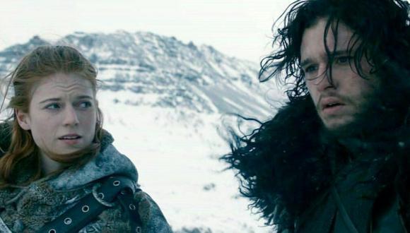 Ygritte y Jon Snow. (Foto: Captura de pantalla)