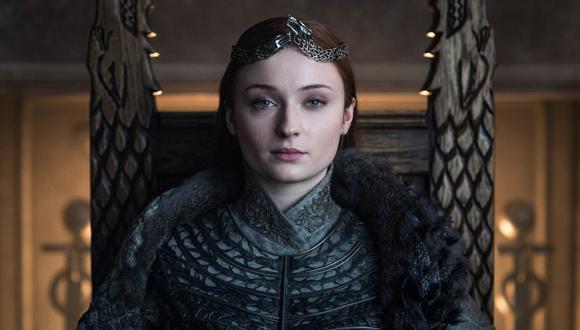 """Sansa Stark se convierte en la reina del Norte en el último capítulo de """"Game of Thrones"""". (Foto: HBO)"""