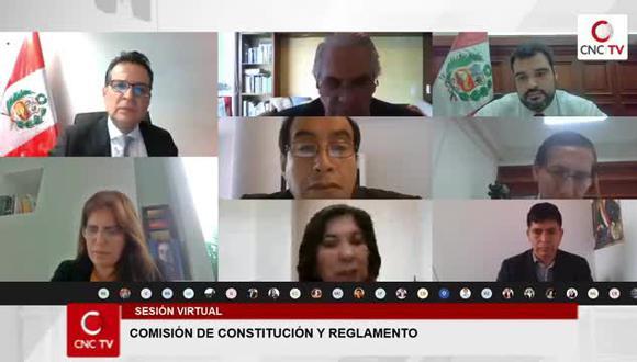 Comisión de Constitución revisará este martes modificaciones a la Ley Orgánica de Elecciones. (Captura)