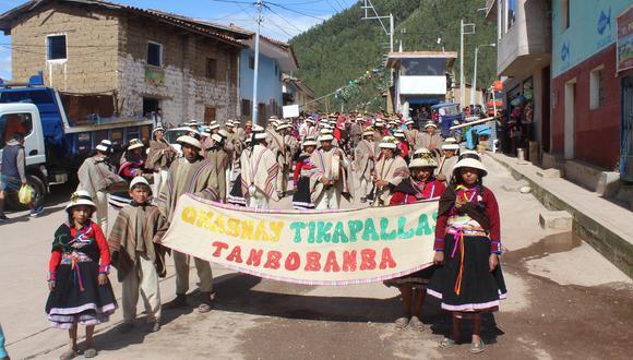 Este domingo inició la celebración de Carnaval Tikapallas, en Apurímac. (Foto: Cortesía)