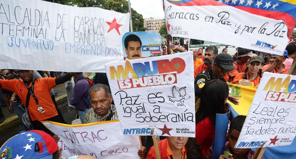 """Según Nicolás Maduro, Estados Unidos le """"dictó"""" a Bachelet el contenido del informe. (Foto: EFE)"""