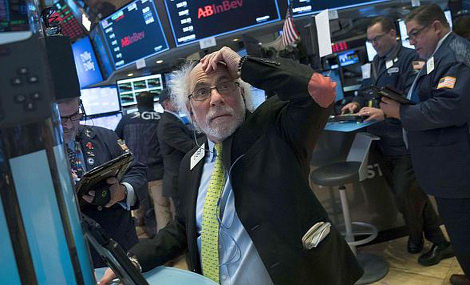 De los tres indicadores de Wall Street, el Nasdaq era el que más descendía este miércoles. (Foto: AFP)