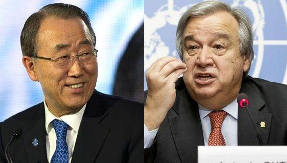 Ban Ki-moon: Elección de Guterres para dirigir ONU es excelente
