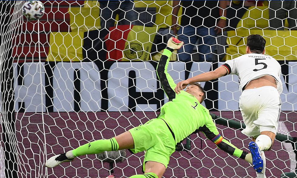 Francia vs. Alemania por la jornada 1 de la Euro 2021 Foto: AFP