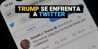 Donald Trump amenaza con cerrar las redes sociales tras cuestionamientos sobre sus tuits