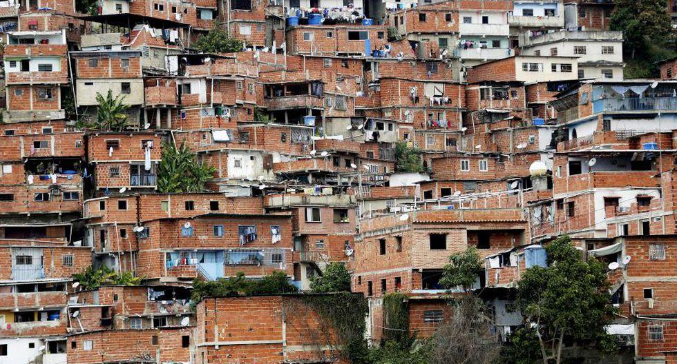 Vista panorámica del peligroso barrio de Petare. (EFE)