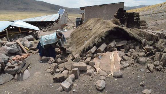 Sismo en Puno: no hay registro de temblores intensos en Lampa