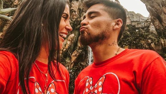 Melissa Paredes y Rodrigo Cuba se reencuentran tras varios meses separados por la pandemia del coronavirus. (Foto: Instagram)