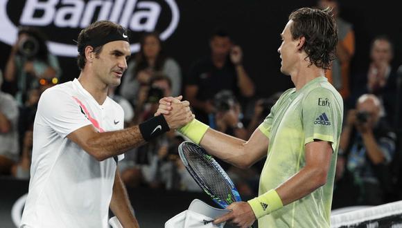 Federer venció a Berdych y avanzó a semis de Australia. (Foto: Agencias)